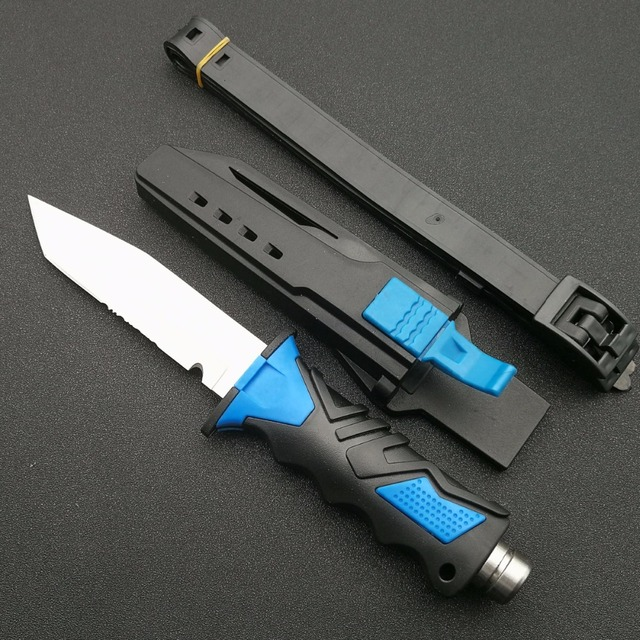Fixed Blade Titanium Diving Knives