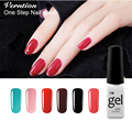 Verntion 3 in 1 uv gel nail Polish professional manicure set gel varnish one step nail art need UV lamp harmony