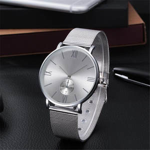 2019 New Fashion Women Reloj Mujer Rhinestone Relogio Watches Crystal Stainless Steel Analog Quartz Wrist Watch Bracelet  silver