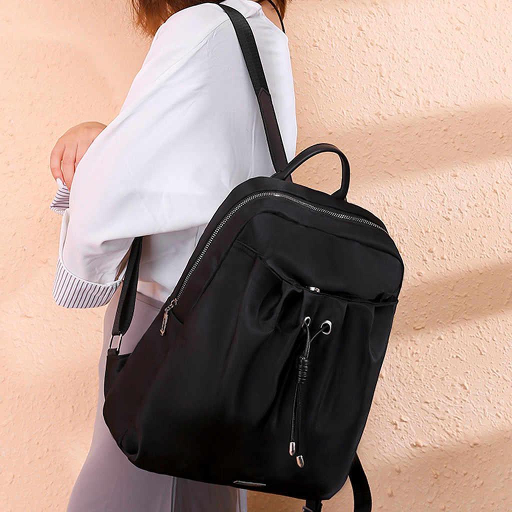 Повседневные женские сумки, женская модная сумка-тоут, водонепроницаемый нейлоновый рюкзак, противоугонная сумка на плечо, для отдыха, mochila feminina #59