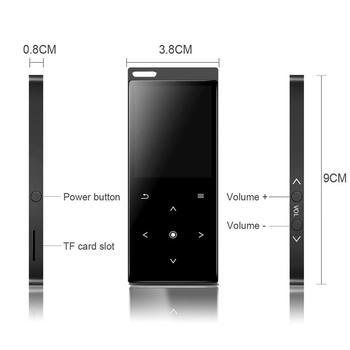 MP4 Player Bluetooth Touch Key HiFi Music Consumer Electronics
