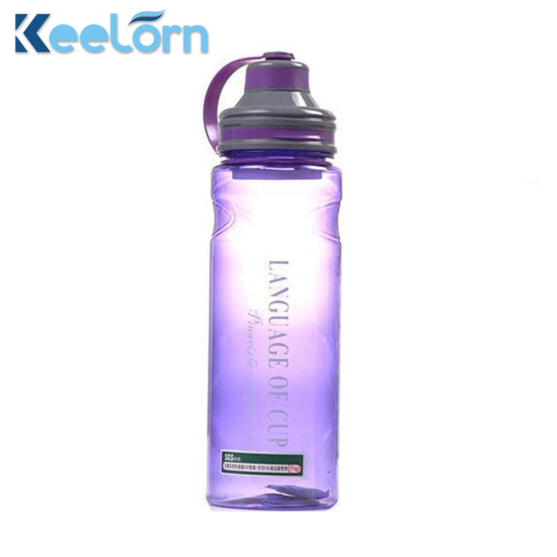 Keelorn 600ML 800ML 1000ML Creative 3 Color My Portable Space Water Bottles With Tea Infuser High Quality Style Sports Bottle
