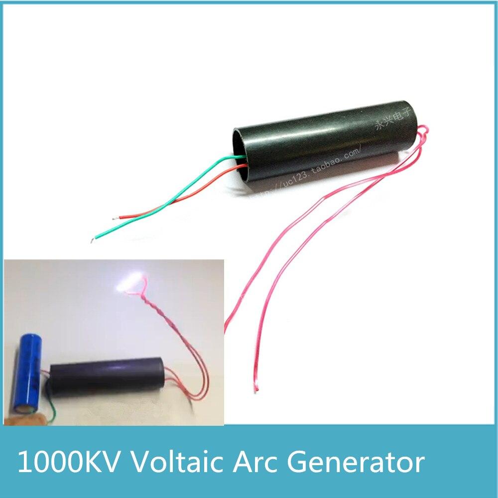 DC 6/~ 12/V A 500KV ~ 1000KV generador de impulsos de alta tensi/ón Inverter tarjeta transformador Super Electric ARC Bobina de encendido m/ódulo de alimentaci/ón