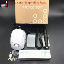 STARKE 210 MARATHON meister 3 Starke 102 Griff 35000 rpm Elektrische Nagel Bohrer FORTE 210 nail art Werkzeug Maniküre maschine