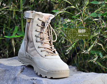 Military tactical desert fight troops throughout the spring and autumn day out of doors mountain climbing boots sneakers leather-based ankle boots