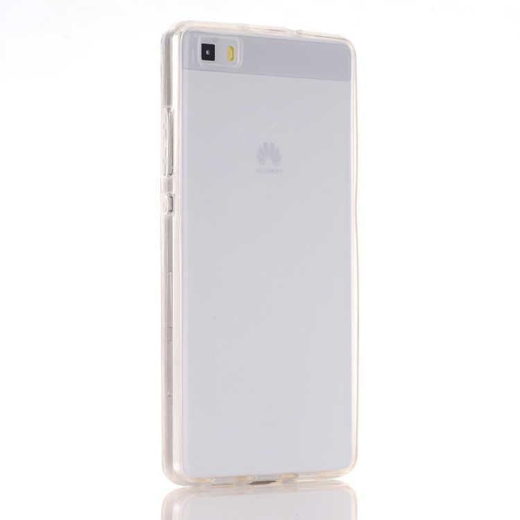 Per Huawei Ascend P8 Lite/P9 Lite Caso Molle Della Copertura TPU Full body Protettiva Crystal Clear fronte retro Casse Del Telefono celular capa