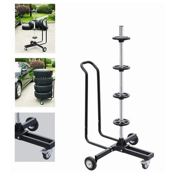 High Quality Vertical Type Tyre Holder Factory Supply Tire Rack