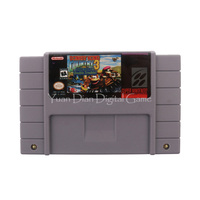 Nintendo SFC SNES Video Game Cartridge Console Card Donkey Kong Country 3 Dixie Kong S Double