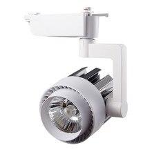 4 adet/grup 20 W 30 W Alüminyum LED ray lambası COB raylı Parça spot lamba AC220V Giyim için Özel Mağaza iç mekan aydınlatması