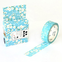 Cherry Blossom Spring Washi Tape Decorative Album Adhesive Tape  DIY Scrapbooking Decoration Masking Tape  цена и фото