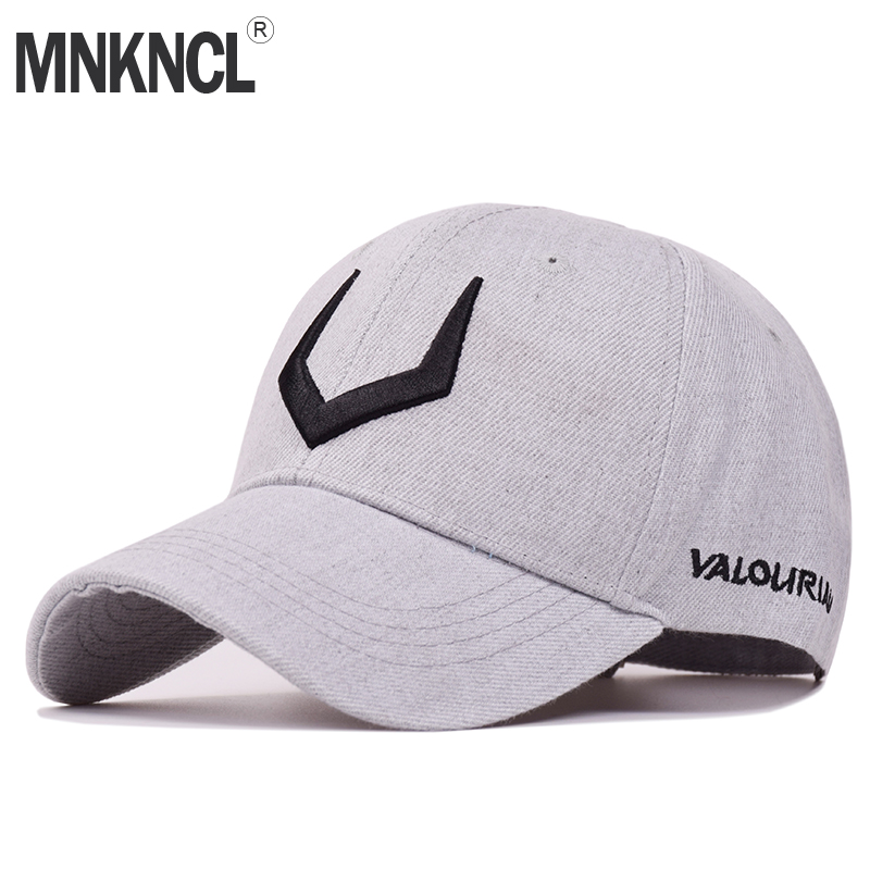 MNKNCL 2018 New High Quality Hat 100%Cotton Snapback Cap V 3D Embroidery Baseball Cap Men and Women Caps xthree fashion hat caps sunshading men and women s baseball cap rhinestone hat denim and cotton snapback cap