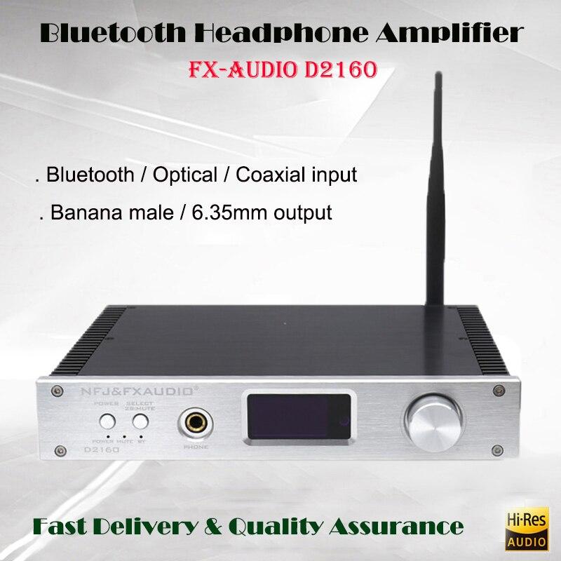 FX-Audio D2160 Numérique Amplificateurs 4.2 Bluetooth USB DAC Amplificateur de Puissance 150 w HIFI Portable Amp Audio Décodeur Maison amplificateur