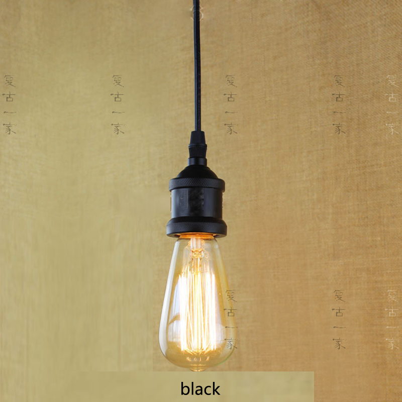 Retro Vintage 40W Edison light bulb chandelier E27 220V lamp industrial Incandescent Bulbs Filament Edison light bulb led lamp 5pcs e27 led bulb 2w 4w 6w vintage cold white warm white edison lamp g45 led filament decorative bulb ac 220v 240v