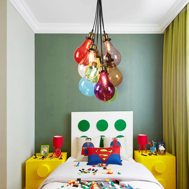 Coloured chandeliers multi chandelier glass light lights lamp modern coloured chandeliers multi chandelier glass light lights lamp modern design lamps blue pendants small bulb fixture aloadofball