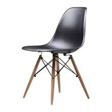 Современный простой креативный офисный стул, скандинавский обеденный стул для отдыха и дома, твердый деревянный книжный стол и стул