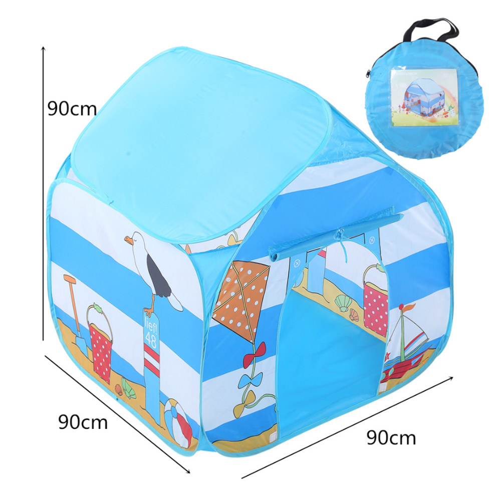 Kids Play Tent Toddler Foldable Playhouse Tent Polyester Princess Games Houses Game Tents