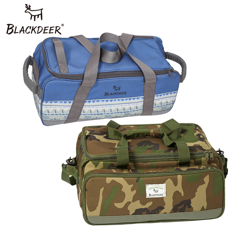 BLACKDEER Camping Travel Portable Separated Storage Bags Carry On Luggage Camouflage Bags Cookware Tote Large Weekend Bag