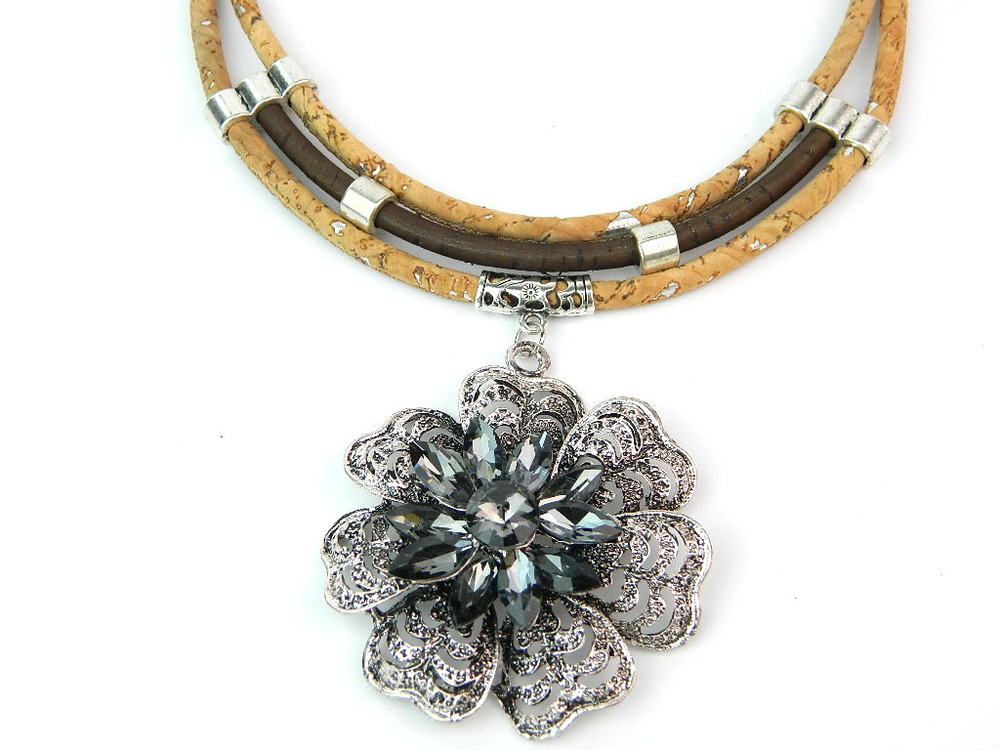 Portugal 100% Natural Cork Jewelry,Natural Cork Necklace