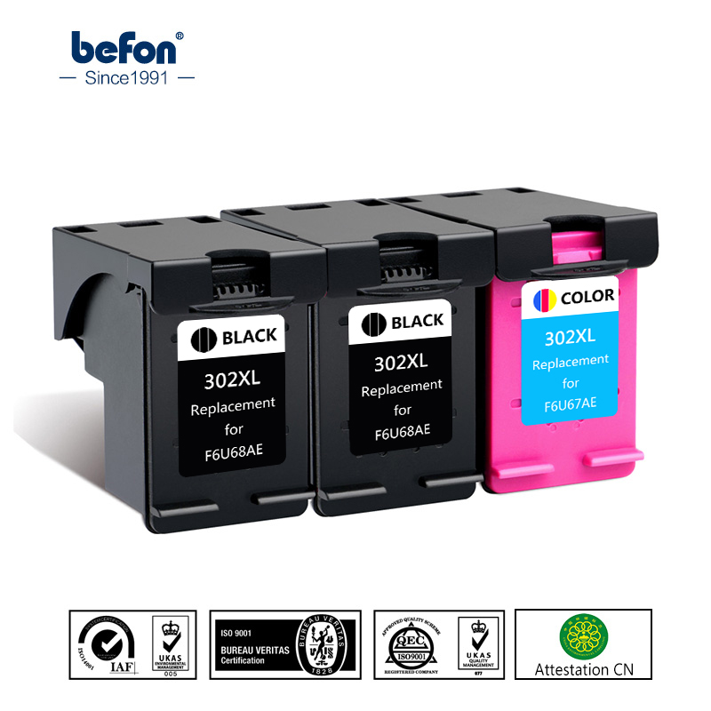 Картридж для принтера HP 302 HP 302 XL Deskjet 1110 1111 1112 2130 2131 2132