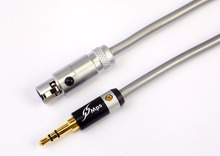 Фотография MPS X-7Swan HiFi 99.9997% OCC+24K Gold Plated Plug 3.5mm-xlr K702 K271s K240s K712 Q701 Audio cable Headphone Speaker cable