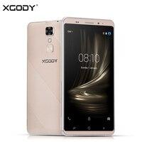 XGODY D17 Smartphone Android 5.1 5.5 Pulgadas 1 GB RAM 16 GB ROM Quad Core GPS 8MP Dual Sim 5.5 Pulgadas 3G Desbloqueado Teléfonos Celulares 2800 mAh