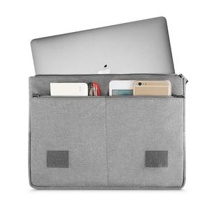 Image 2 - MOSISO מחשב נייד שרוול תיק 13.3 אינץ מחברת שקיות עבור Macbook Air 13 מקרה חדש מגע בר רשתית Pro 13 כיסוי עבור Asus Acer Dell