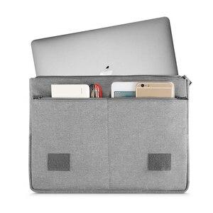 Image 2 - MOSISO حقيبة الكمبيوتر المحمول 13.3 بوصة حقائب الكمبيوتر المحمول لماك بوك اير 13 حالة جديدة تعمل باللمس شريط الشبكية برو 13 جراب إيسوز أيسر ديل