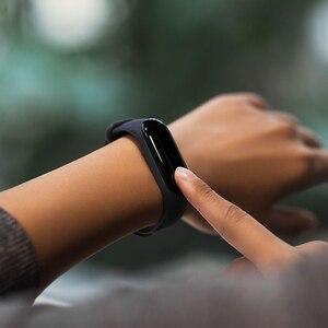 "Image 5 - Xiaomi Mi Band 3 Smart Bracelet 4 Color OLED Screen Miband 3 Smartband Fitness Tracker 0.78"" 50M Waterproof Smart Wristband"