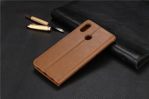 Image 2 - Кожаный чехол бумажник AZNS для xiaomi Mi MAX 3 max3 max 3 Mi Max3 Pro 3pro, кожаный чехол книжка высокого качества