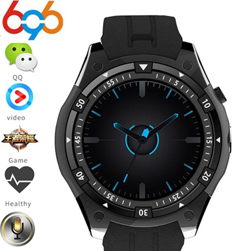 696X100 Android OS 5,1 запястье Smart Watch MTK6580 1,3 AMOLED Дисплей 3g sim-карта для Iphone Xiaomi huawei samsung PK Q7 kw88