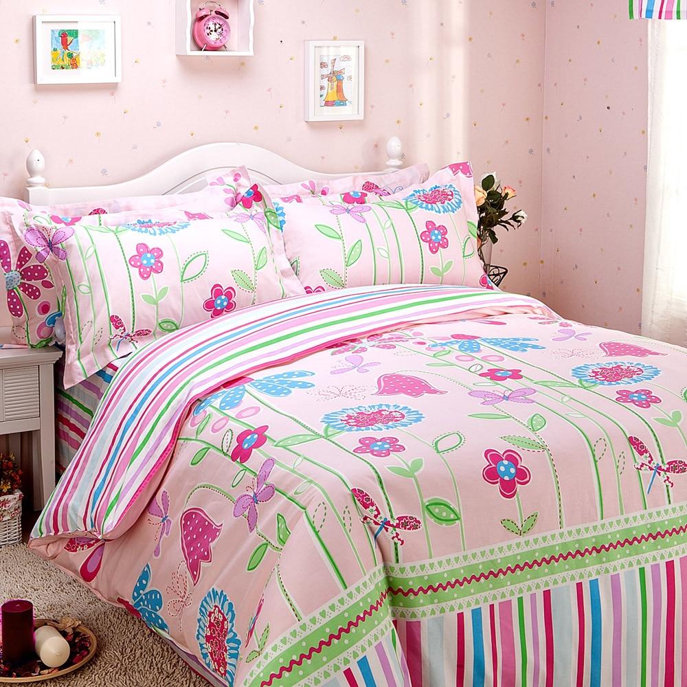baby just for kids 100% cotton child bedding piece set
