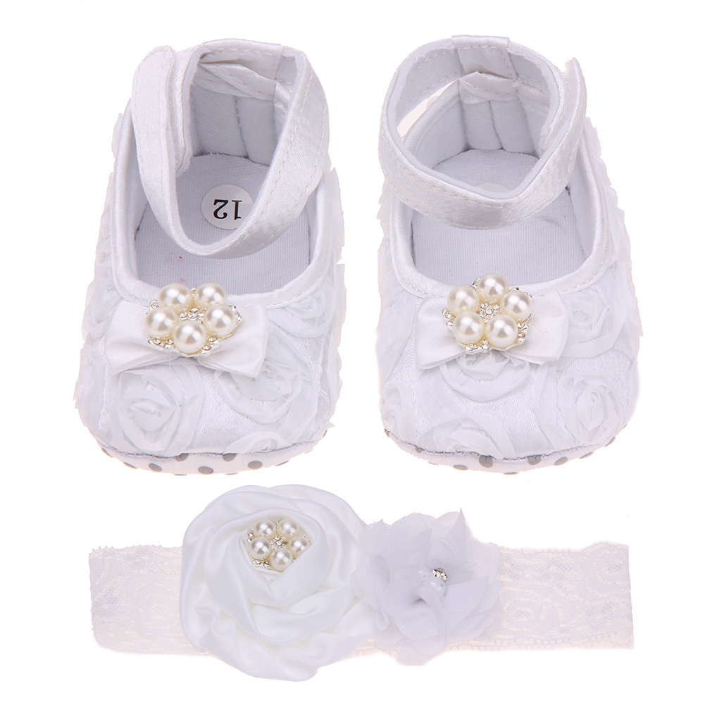 Baby Shoes First Walkers Flower Princess Footwear Shoes