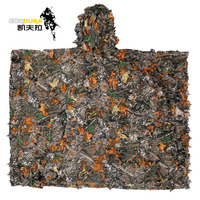 Freeshipping Jungle Outdoor Sport Jacht Camouflage Camping Birdwatching Militaire Ghillie Sniper Pak Mantel bionische camouflage