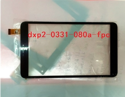 New original dxp2-0331-080a-fpc tablet multipoint capacitive touch screen free shipping
