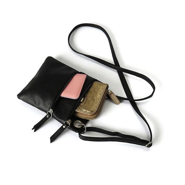 Women Pu Messenger Bags Vintage Mini Ladies Crossbody Bag Fashion Sling Bag for Women Coin Purse 4