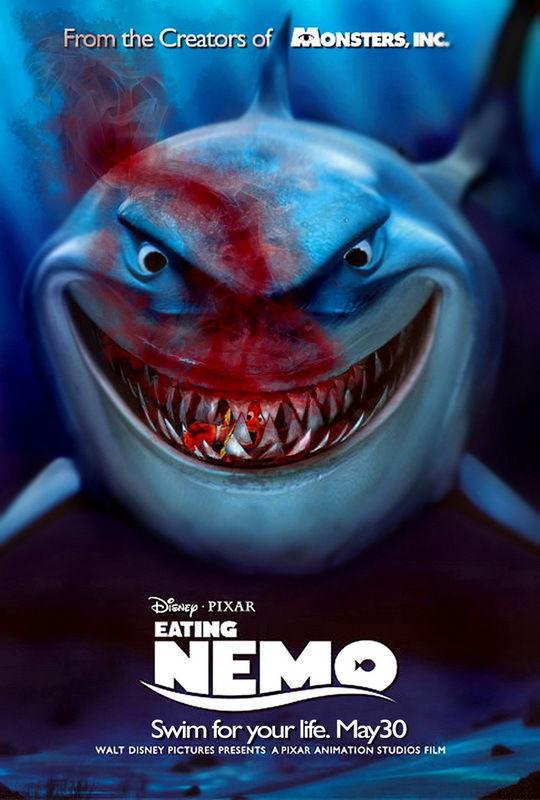 "DY00233 Finding Nemo Animation Adventure Film Movie 14""x21"