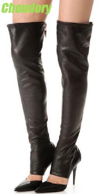 Black Dress Boots for Women Promotion-Shop for Promotional Black ...