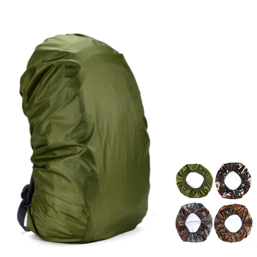 <font><b>35L</b></font> <font><b>Backpack</b></font> rain cover portable waterproof dustproof military tactical camouflage shoulder bag protect covers image