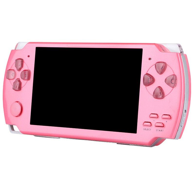 8 GB console de jeu portable mémoire réelle jeu vidéo portable construit en mille jeux gratuits mieux que sega tetris nes