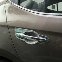 ABS Chrome Door Handle Bowl For Hyundai Elantra 2016 Avante 2015 Auto Parts Accessories