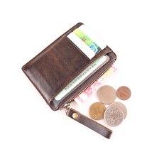 מחזיקי ארנקי נקבה ציפר מטבע כיס מטבע עור פרה רטרו מיני מעצב בעבודת יד קצת כרטיס רב ארנק שינוי ארנק מטבעות
