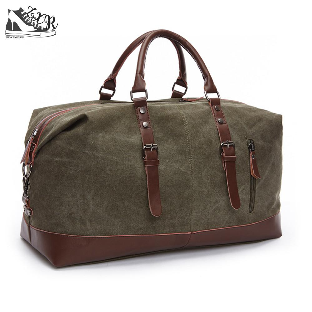 Zuoxiangru Canvas Leather Men Travel Bags Carry On Luggage Bags Women Men Duffel Bags Travel Tote Large Weekend Bag Overnight canvas leather men travel bag carry on luggage duffel bags large travel tote patchwork weekend crossbody bag overnight xa38wc