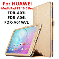 Case For Huawei MediaPad T2 10 0 Pro Protective Smart Cover Faux Leather Tablet For HUAWEI