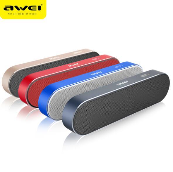 Awei Y220 bluetooth haut-parleur Mp3 barre de son Muziek Mini Draadloze Draagbare Luidsprekers Voor Telefoon PC Hoparlor boîte Speler Voo