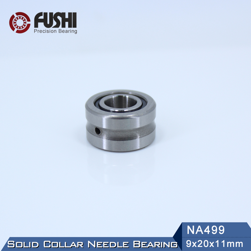 NA499 Bearing 9*20*11 mm ( 1 PC ) Solid Collar Needle Roller Bearings With Inner Ring 4524099 NA49/9 Bearing