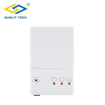 누수 감지 시스템 WZ807 용 배터리 백업 누수 감지기 알람 제어 장치