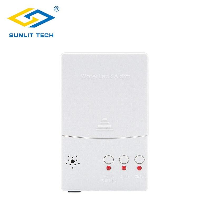 Unité de contrôle d'alarme de détecteur de fuite d'eau de secours de batterie pour le système de détection de fuite d'eau WZ807