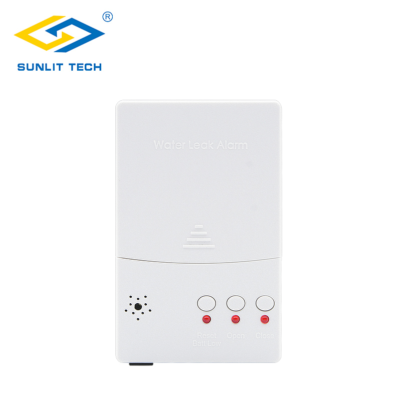 Battery Backup Water Leak Detector Alarm Control Unit for Water Leakage Detection System WZ807 2016 an ying factory directly supply water leak detection alarm water pipeline leakage detector 1200m detecting distance