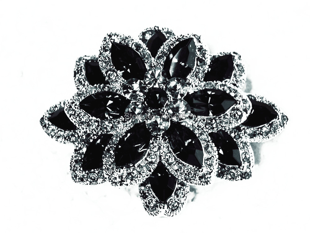 Marquiese Crystal and Rhinestone Diamante Wedding Flower - Նորաձև զարդեր - Լուսանկար 3