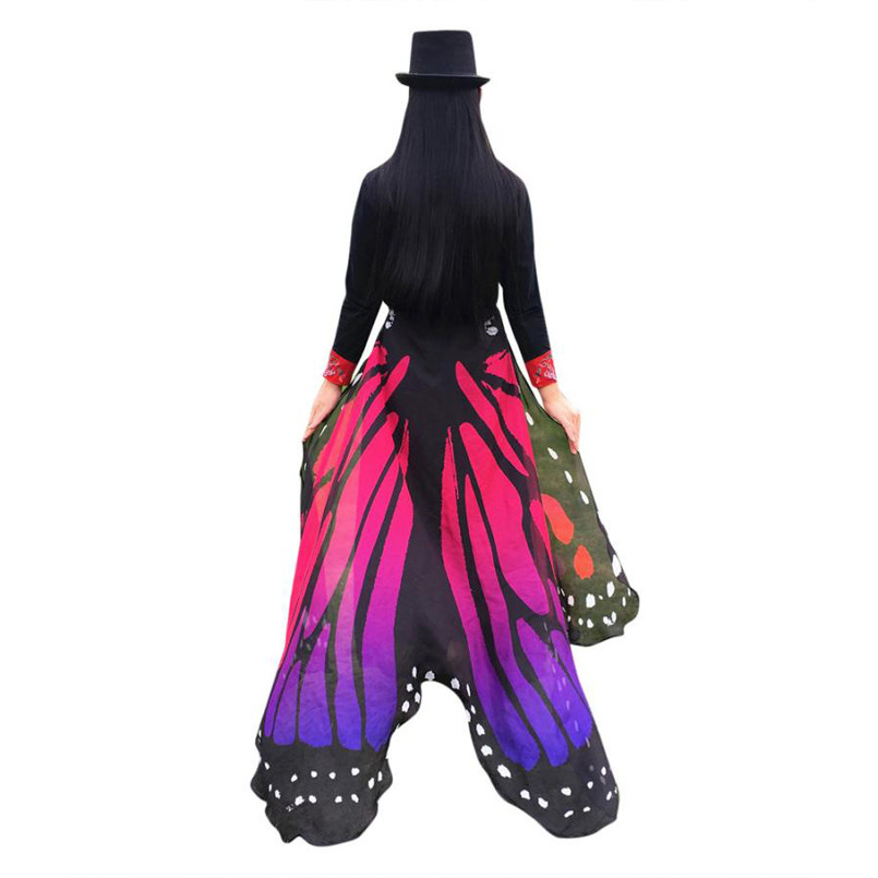 Butterfly Wings Wrap scarf | Ponchos and Capes | Up to 60% Off Now